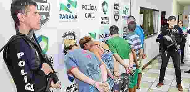 Em dezembro de 2015, polícia fez operação contra integrantes do PCC no Paraná - Delair Garcia/tnonline