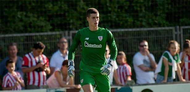 Kepa Arrizabalaga tem vínculo com o Athletic Bilbao até junho de 2018