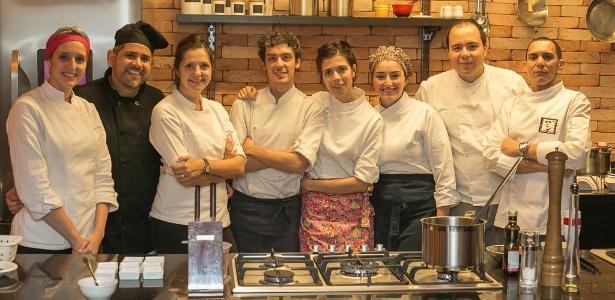 Cozinheiros do Welcome Chef, plataforma digital que disponibiliza chefs para eventos - Divulgação
