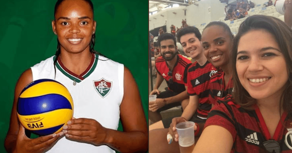 d09abec2c Fluminense estuda aplicar punição a Sassá após atleta de vôlei ir a jogo  com camisa do