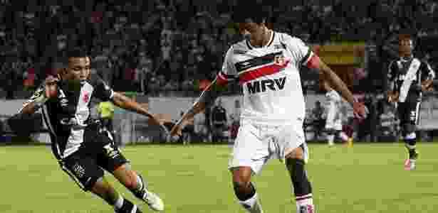Keno, do Santa Cruz, estava bem encaminhado para ir ao Santos até aparecer o Palmeiras - Carlos Gregório Jr/Vasco.com.br