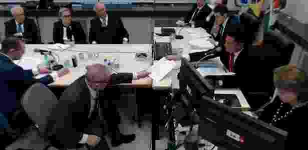 Lula é interrogado por Moro em maio de 2017 - Reprodução