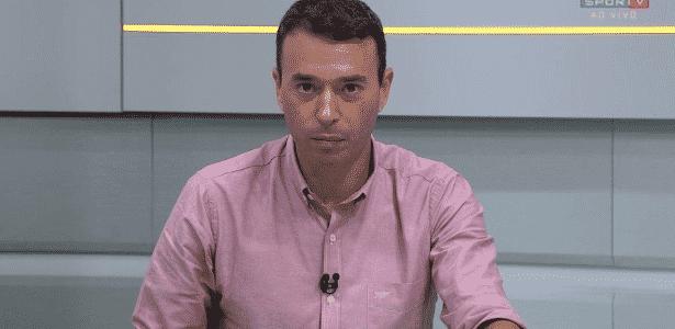 André Rizek - Reprodução/TV Globo