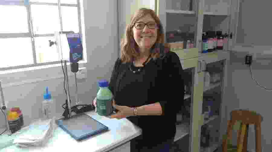 Gilda Mogor pesquisadora e a principal inventora da patente verde da UFPR - Divulgação