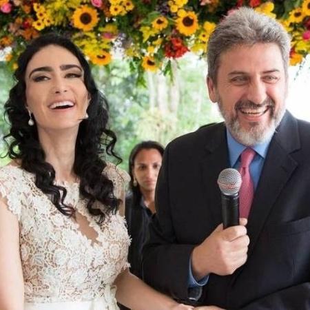 Cristiane Machado e Sergio Schiller Thompson-Flores - Arquivo Pessoal