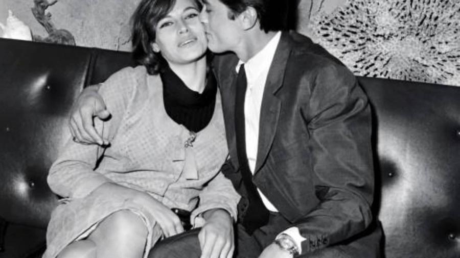 Alain e Nathalie Delon em 25 de agosto de 1967 - Reprodução/ afp_tickers