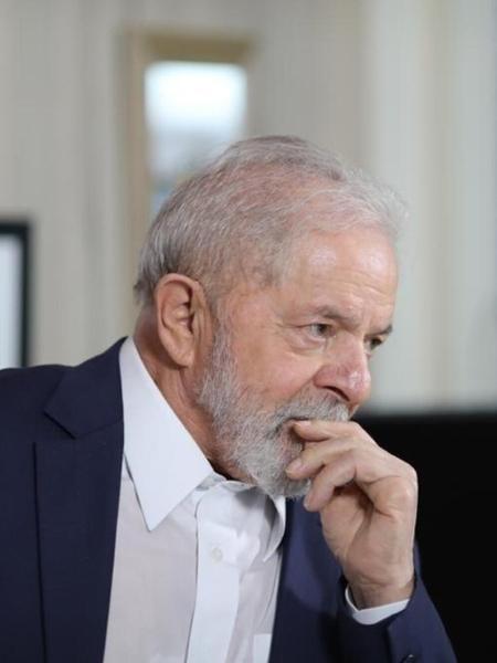 Luiz Inácio Lula da Silva em entrevista com Reinaldo Azevedo - Ricardo Stuckert/Twitter