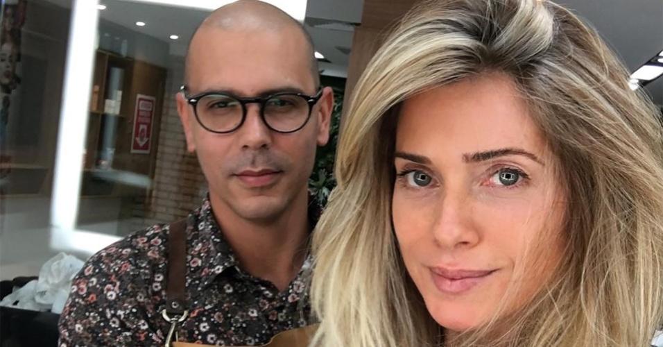 Atriz Letícia Spiller aproveita fim da novela Sol Nascente para mudar o visual