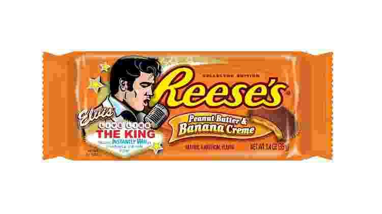 chocolate de pasta de amendoim com banana, da Reese's - Divulgação - Divulgação