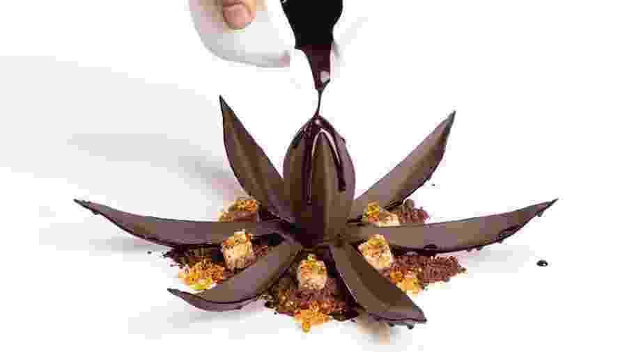Chocolate 3D da empresa suíça Barry Callebaut - Divulgação