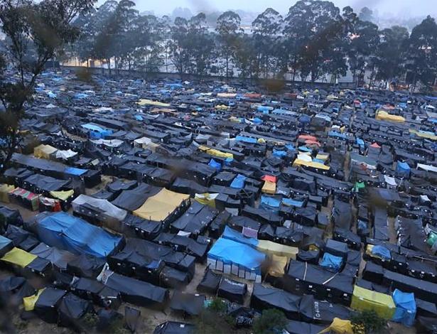 Ocupação do MTST, Povo Sem Medo, em São Bernardo, no ABC paulista