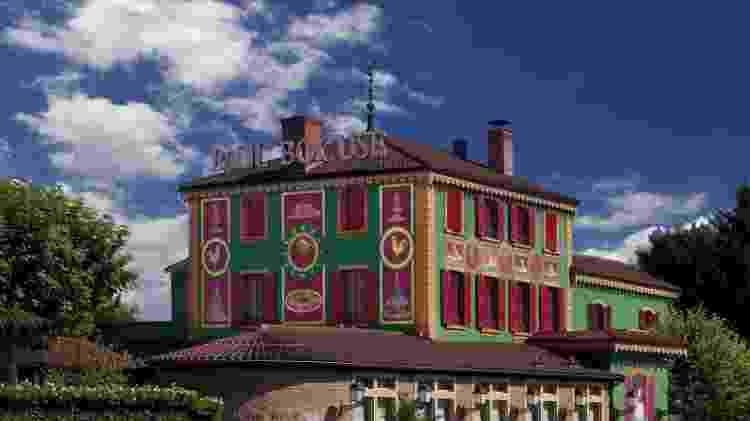 O restaurante Paul Bocuse fica perto de Lyon, na França - Divulgação