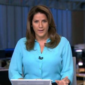 """Christiane Pelajo deixou o """"Jornal da Globo"""" no ano passado - Reprodução/TV Globo"""