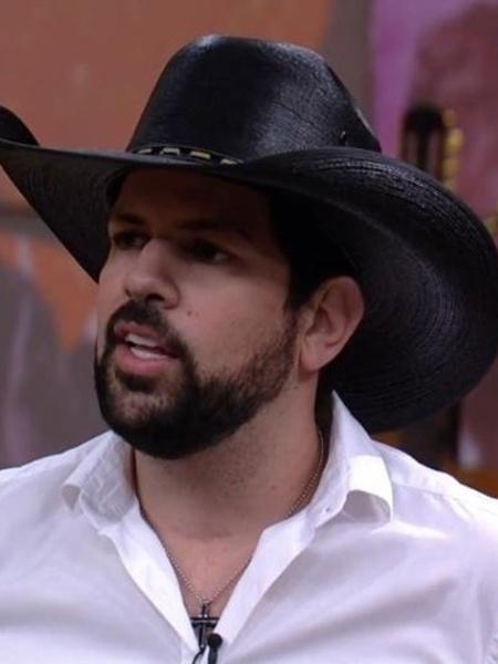 O cantor Sorocaba  - Reprodução/TV Globo