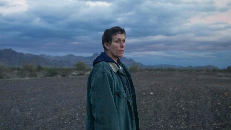 """""""Nomadland"""" levou melhor filme, melhor direção e melhor atriz no BAFTA - Divulgação"""