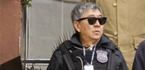 O policial Newton Ishii, que foi condenado e preso