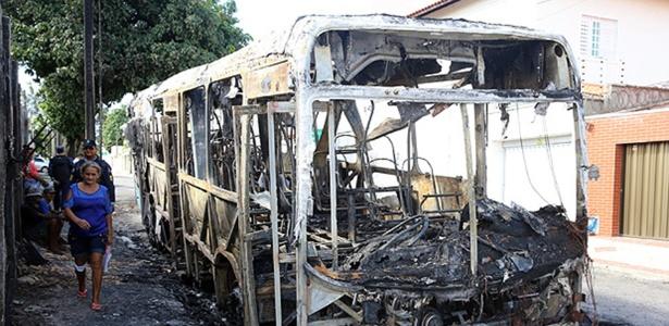 Fortaleza vive onda de ataques a ônibus desde a noite de quarta-feira (19)
