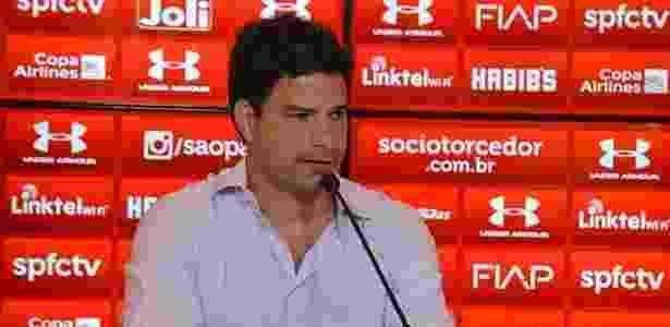 Gustavo Vieira foi diretor executivo de futebol do São Paulo - Érico Leonan/saopaulofc;net