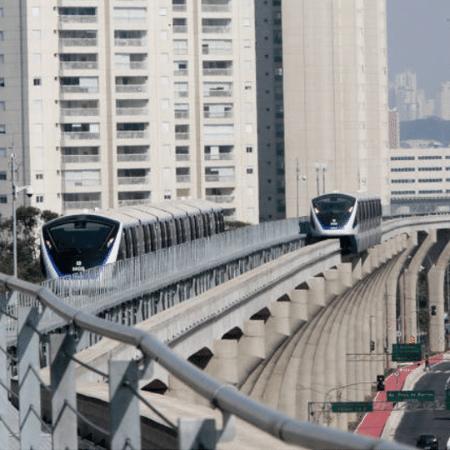 CCR com o monotrilho da linha 15: empresa tem interesse na concessão de mais três linhas - Joel Silva - 30.ago.2014/Folhapress