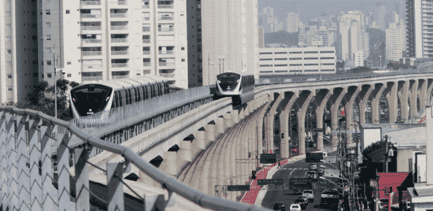 A linha 15 ainda não foi finalizada, mas já tem histórico de acidentes - Joel Silva - 30.ago.2014/Folhapress