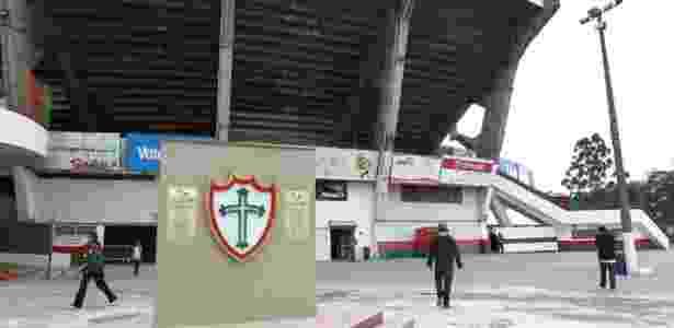 Vista parcial do Canindé: interdição, leilão, morte e rebaixamento assombram estádio da Portuguesa na zona norte de São Paulo. - Reprodução