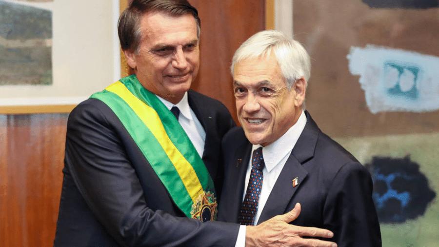 Sebastián Piñera, que receberá Jair Bolsonaro em Santiago, simboliza início de guinada regional à direita - Marcos Correa - 1º.jan.19/Presidência da República/Reuters