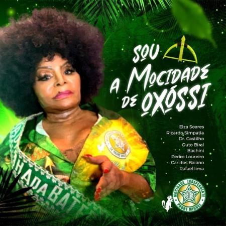 Elza Soares concorre na disputa do samba-enredo da Mocidade - Divulgação