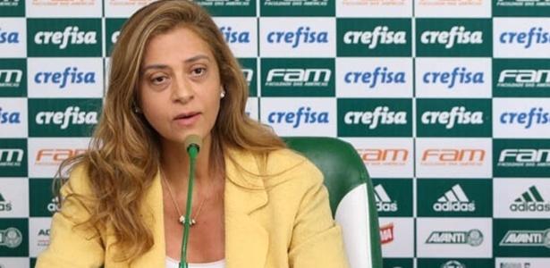 Leila Pereira voltou a mostrar força na política interna do Palmeiras