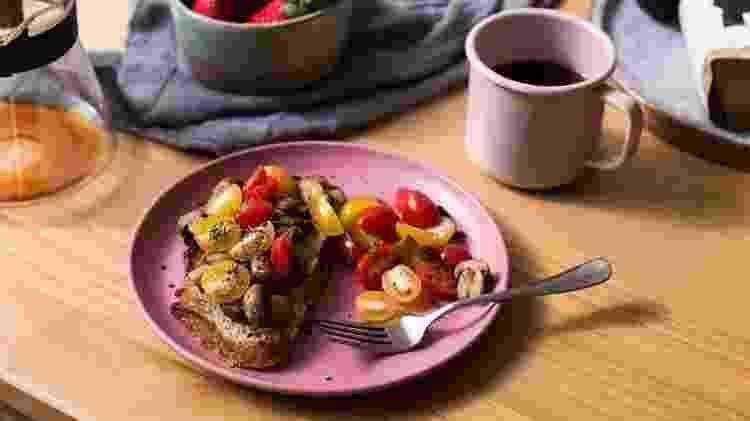 Café da manhã - Reprodução/Instagram/ - Reprodução/Instagram/