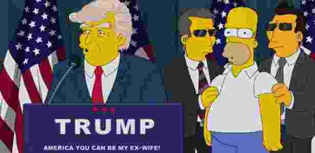 Simpsons previu Trump presidente em 2000 - Reprodução