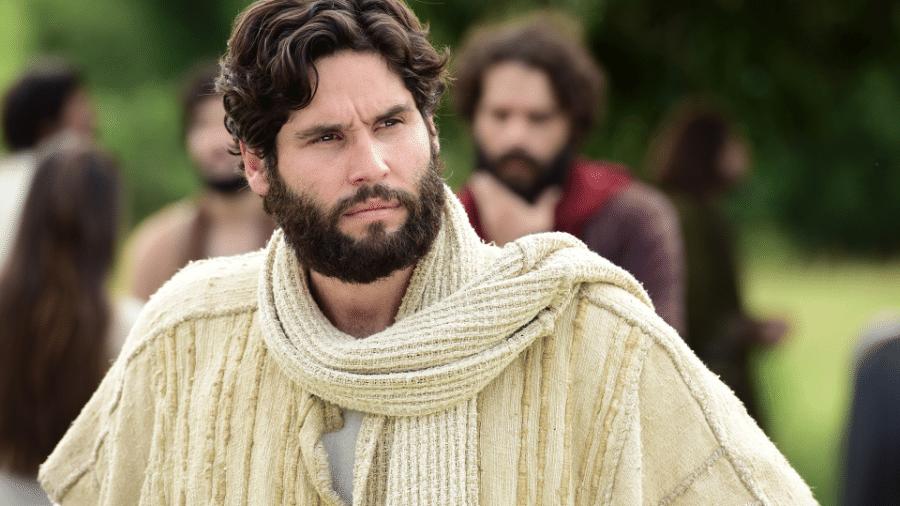 """O ator Dudu Azevedo é o intérprete de """"Jesus"""", na novela  - Blad Meneghel/ Record TV"""
