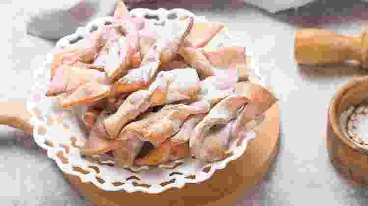 Os crostoli são tradicionais em Vêneto - iStock