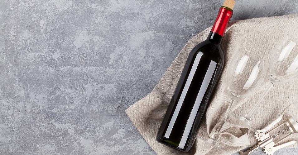 vinho, garrafa, rolha, saca-rolha, getty