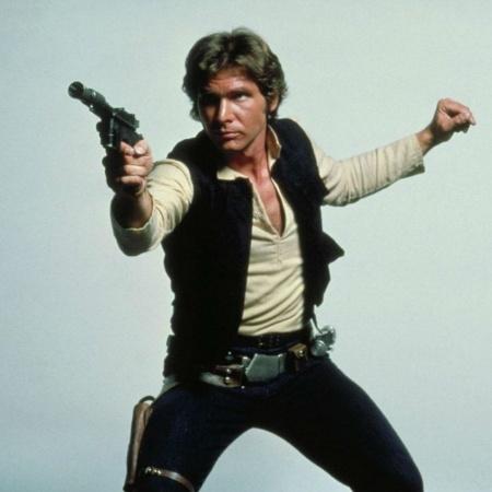 Harrison Ford como Han Solo em Star Wars - Reprodução