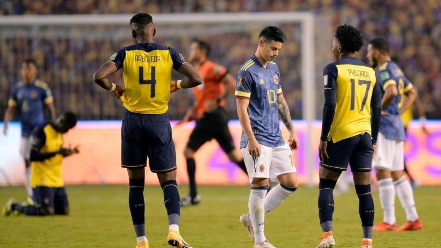 Equador goleia Colômbia pelas Eliminatórias Sul-Americanas - Rodrigo Buendia-Pool/Getty Images