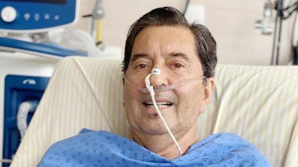 Maguito Vilela em foto do dia 12 de novembro; ele morreu aos 71 anos  - Divulgação - Divulgação