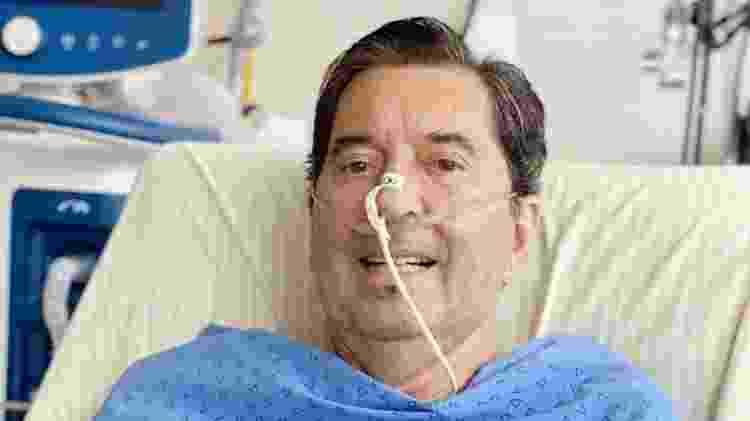 O candidato eleito em Goiânia pelo MDB, Maguito Vilela, em foto do dia 12 de novembro - Divulgação - Divulgação