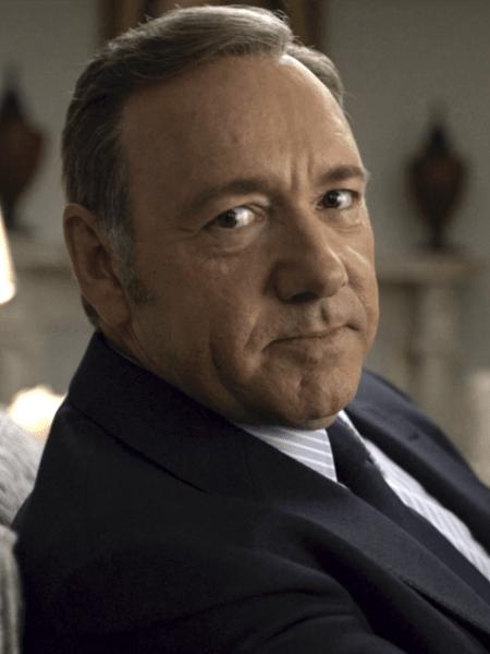 Kevin Spacey como o personagem Frank Underwood em cena da série House of Cards, da Netflix - Divulgação