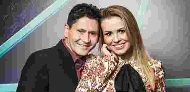 """Gian e Tati Moreto  são participantes do """"Power Couple"""" - Edu Moraes/Record - Edu Moraes/Record"""