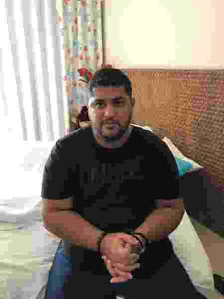 André do Rap, líder do PCC, foi capturado em Angra dos Reis em setembro de 2019 - Arquivo pessoal