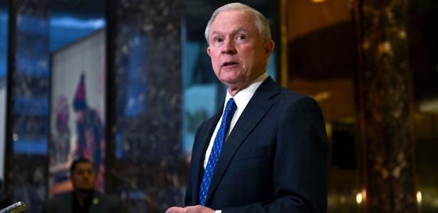 O secretário da Justiça dos EUA, Jeff Sessions