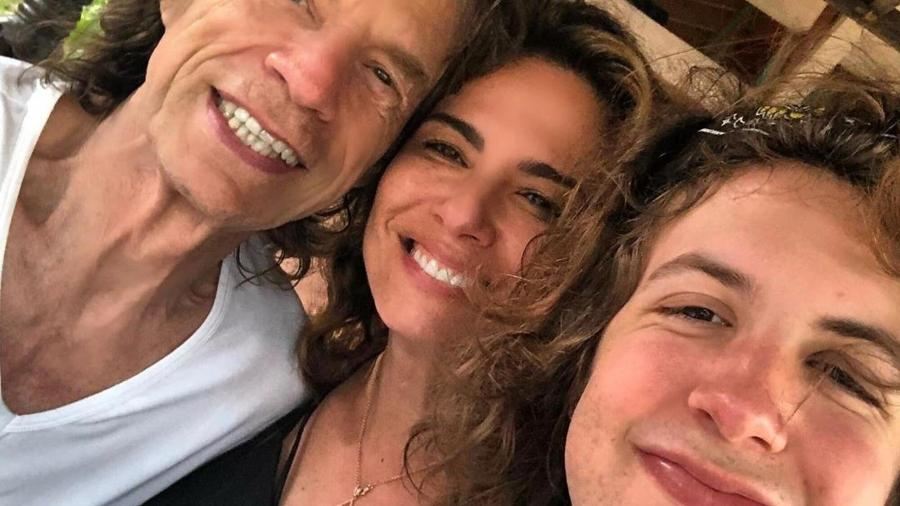 Luciana Gimenez faz homenagem a Mick Jagger em Dia dos Pais na Inglaterra - Reprodução/Instagram