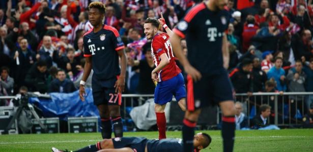 Atlético de Madri saiu na frente do Bayern em uma das semifinais da Liga dos Campeões - Reuters / Juan Medina