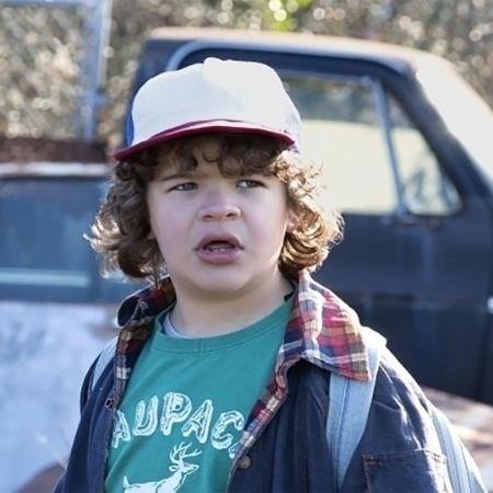 "Gaten Matarazzo interpreta Dustin em ""Stranger Things"", série da Netflix - Divulgação/Netflix"