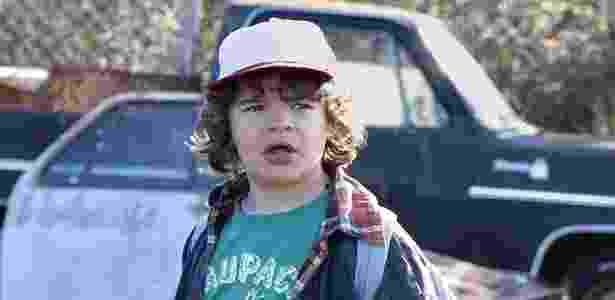 "Gaten Matarazzo interpreta Dustin em ""Stranger Things"", série da Netflix - Divulgação/Netflix - Divulgação/Netflix"