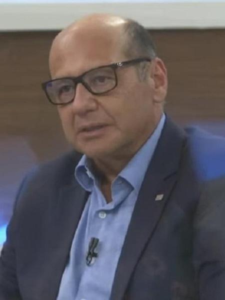 Dimas Covas, diretor do Instituto Butantan - Reprodução/TV Cultura