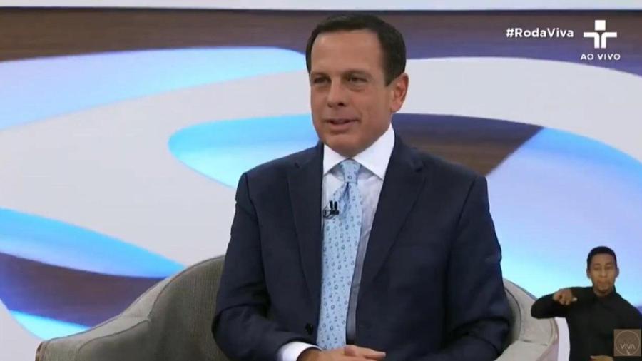 Governador João Doria anunciou a retomada do Corujão no estado de São Paulo - Reprodução/TV Cultura