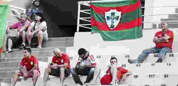 Portuguesa foi rebaixada para a Série D após perder da Tombense - Rubens Cavallari/Folhapress