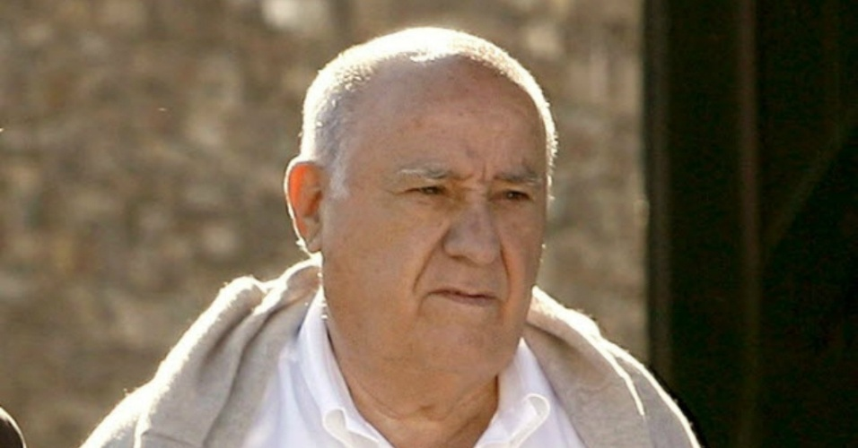 Amancio Ortega, presidente da Zara