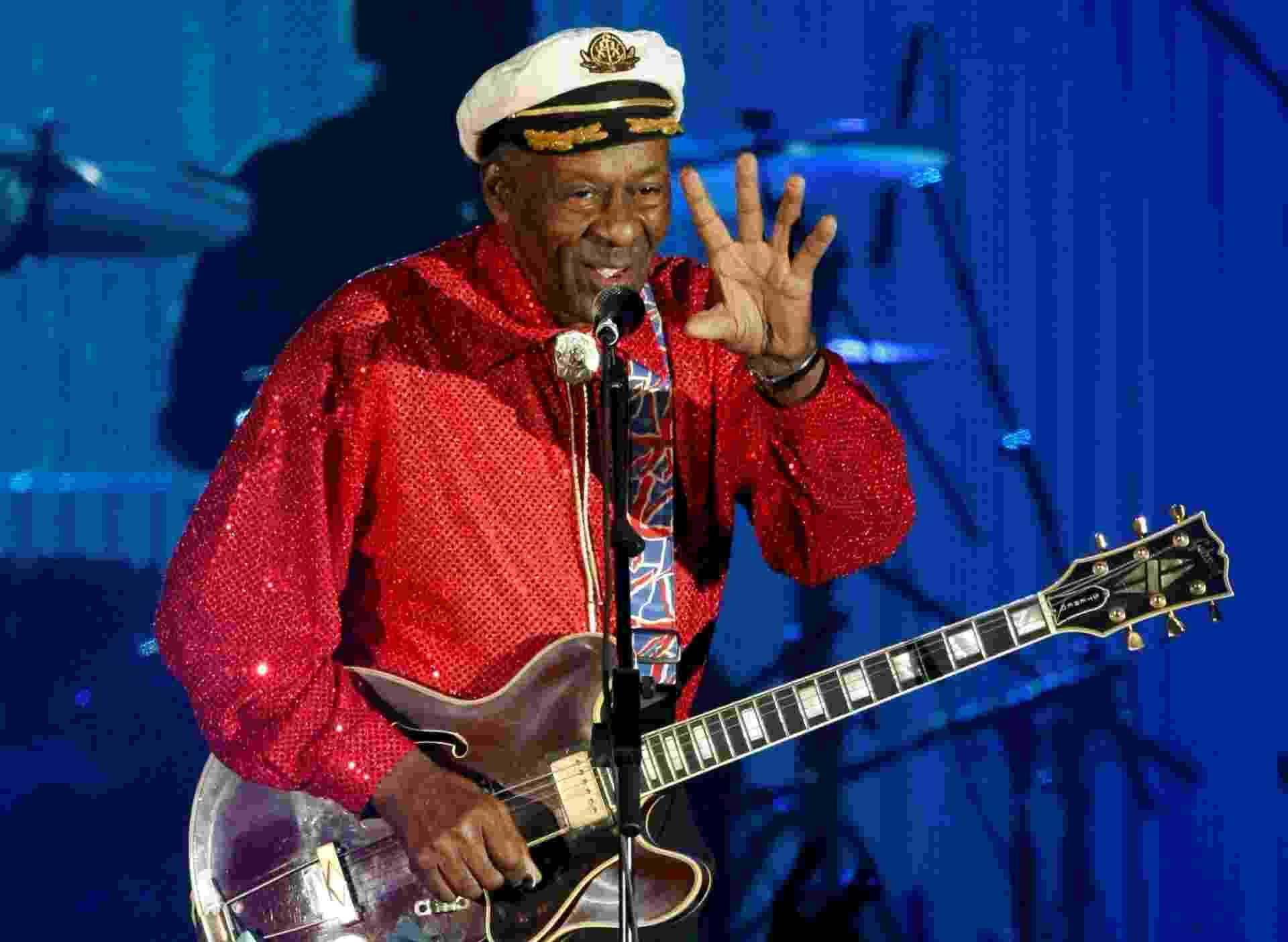 Lenda do rock, cantor, compositor e guitarrista Chuck Berry é achado morto aos 90 anos nos EUA - Reuters